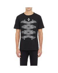 Marcelo Burlon Black Palm Angels & Marcelo Burlon T-Shirt Li