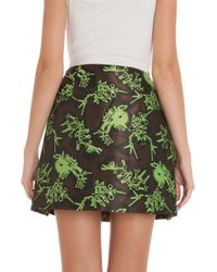 KENZO - Multicolor Monster Jacquard Mini Skirt - Lyst