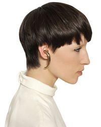 Givenchy - Metallic Large Star Shark Brass Single Earring - Lyst