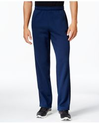 Adidas Originals - Blue Men's Essentials Cotton Fleece Pants for Men - Lyst