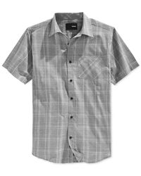 Hurley - Black Dawson Dri-fit Woven Short-sleeve Shirt for Men - Lyst