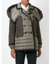 Moncler - Gray Vae Quilted Jacket - Lyst
