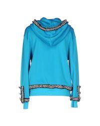 Moschino Couture | Blue Sweatshirt | Lyst