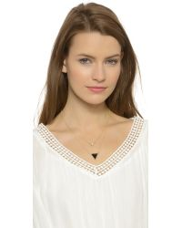 House of Harlow 1960 | Black The Temple Necklace | Lyst