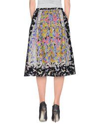 Peter Pilotto - White 3/4 Length Skirt - Lyst