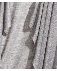 H&M | Gray Fine-knit Cardigan | Lyst