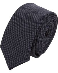 Thom Browne - Blue Wool Fresco Tie for Men - Lyst