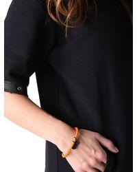 DIESEL | Orange Asanty Bracelet | Lyst