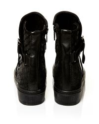 Moda In Pelle Black Arico Low Casual Shoes