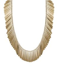 Lucky Brand | Metallic Fringe Collar Necklace | Lyst