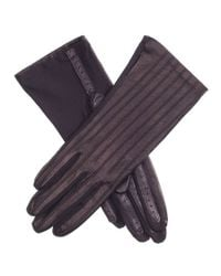Black.co.uk Ultra-comfort Black Stretch Leather Gloves With Silk Lining Description Delivery & Returns Reviews