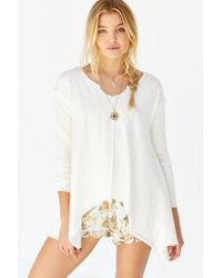 Truly Madly Deeply - White Kylie Tunic Top - Lyst