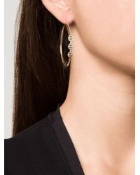 Hoorsenbuhs - Yellow Diamond Bridal Hoop Earrings - Lyst
