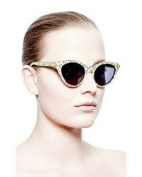 Opening Ceremony - Purple Cateye Sunglasses - Lyst