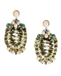 Tory Burch | Natural Formosa Drop Earring | Lyst