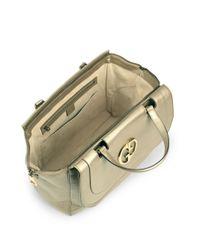 Gucci - Metallic Medium Top Zip Bag - Lyst