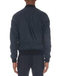Marni Blue Parachute Stretch-Cotton Bomber Jacket for men