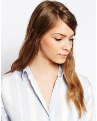 Estella Bartlett | Metallic Twinkle Star Necklace | Lyst