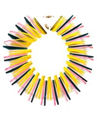 Sarah Angold Studio | Yellow 'luma' Necklace | Lyst