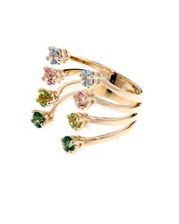 Delfina Delettrez | Metallic Topaz  Yellowgold Ring | Lyst