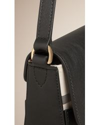Burberry - Black Small Horseferry Cross-Body Bag - Lyst
