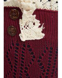 Ana Accessories Inc | Red Overheard In Williamsburg Boot Cuffs In Burgundy | Lyst