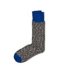 Polo Ralph Lauren - Gray Heathered Crew Socks - Lyst