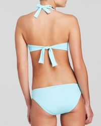 Tommy Bahama Blue Deck Piping Underwire Bikini Top