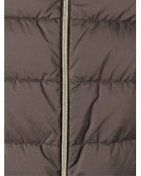 Herno - Brown Optional-Sleeve Padded Jacket - Lyst