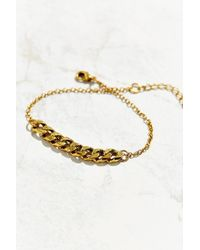 Urban Outfitters | Metallic Dressed Up Bike Chain Bracelet | Lyst