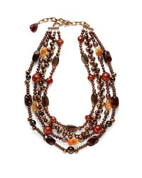Stephen Dweck | Multicolor Multistone Multistrand Freshwater Pearl Necklace | Lyst