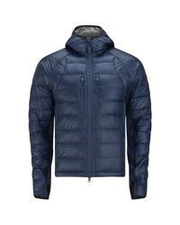 Canada Goose Blue Men'S Hybridge Lite Hoody for men