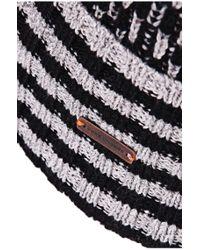 BOSS Orange - Black 'kavan' | Virgin Wool Cotton Beanie for Men - Lyst