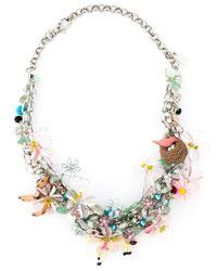Night Market | Multicolor 'Bambi' Necklace | Lyst