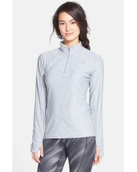 The North Face | Gray 'motivation' Quarter Zip Pullover | Lyst