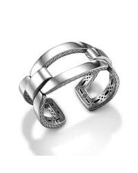 John Hardy - Metallic Classic Chain Open Link Cuff - Lyst
