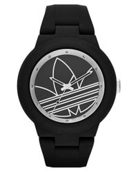 Adidas Originals | Black 'aberdeen' Sports Watch | Lyst
