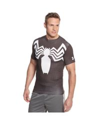 Under Armour Black Alter Ego Spiderman Compression Tshirt for men