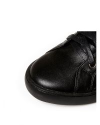 Moda In Pelle Black Ariana Low Casual Shoes