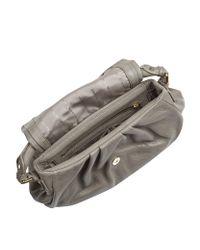 Marc By Marc Jacobs Gray Classic Q Lil Ukita Shoulder Bag