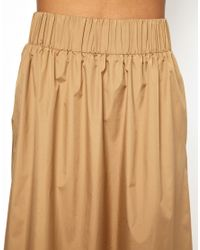 Ann-Sofie Back - Natural Back By Maxi Skirt - Lyst