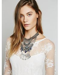 Free People - Metallic Womens Kingdom Statement Collar - Lyst