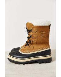Sorel | Natural 'caribou' Boot for Men | Lyst