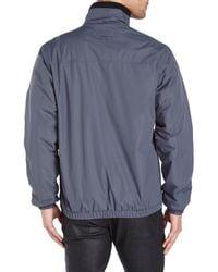 Izod | Gray Bomber Jacket for Men | Lyst