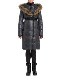 Rud By Rudsak - Gray Margaux Luxurious Down Coat - Lyst