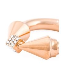 Vita Fede | Metallic 'titan Cubo Ring' Necklace | Lyst