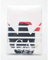 Emporio Armani - Multicolor Briefs In 2 Pack for Men - Lyst
