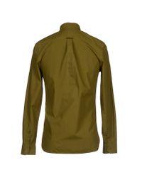 Hardy Amies - Green Shirt for Men - Lyst