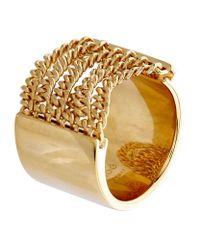 Chloé | Metallic Delfine Chain Ring | Lyst