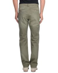 Closed Green Casual Trouser for men